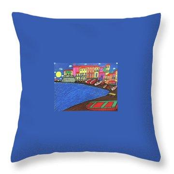 Sestri Levante Italy Throw Pillow