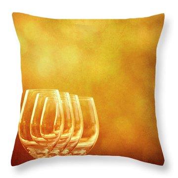 Set For Four Throw Pillow
