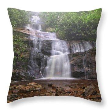 Setrock Creek Falls  Throw Pillow