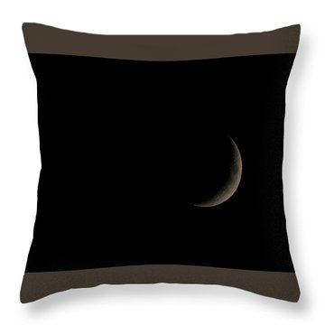 Throw Pillow featuring the photograph Setting by Alex Lapidus
