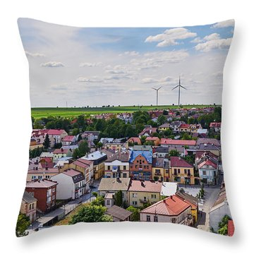 Settlers Throw Pillow