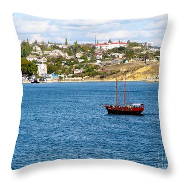 Sevastapol. Ukraine Throw Pillow