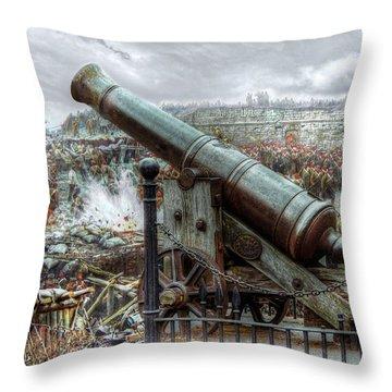 Sevastopol Cannon 1855 Throw Pillow