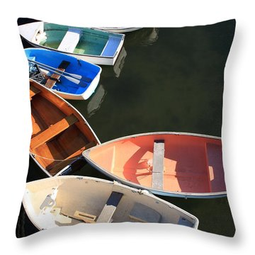 Seven Throw Pillow