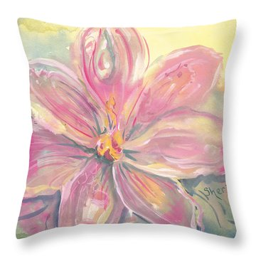 Seven Petals Throw Pillow