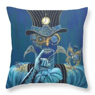 Seven Sharp Throw Pillow by Shauna Eggleston