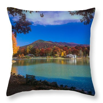Seven Sisters From Lake Tomahawk Throw Pillow