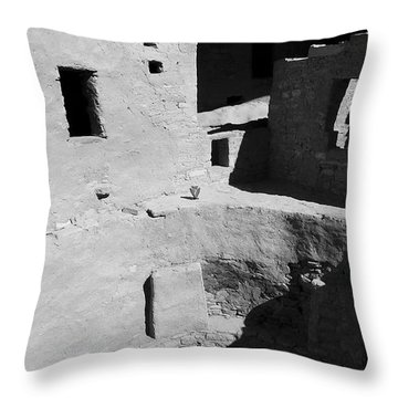 Seven Throw Pillow by Skip Hunt