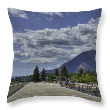Seventeen Spires Throw Pillow