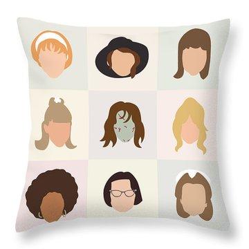 Den Digital Art Throw Pillows