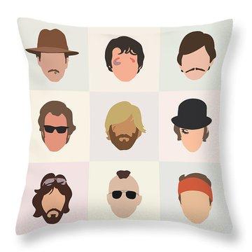 Glasses Throw Pillows