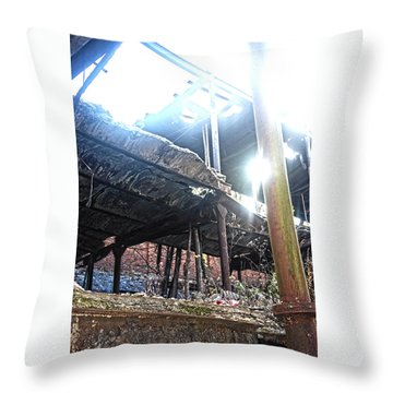 Several Floors Throw Pillow