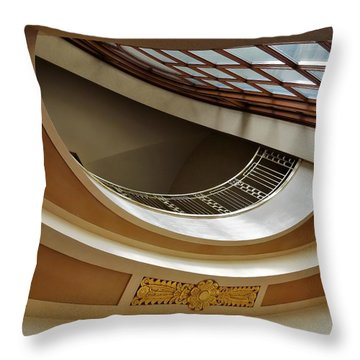 Severance Hall Cleveland Ohio Throw Pillow