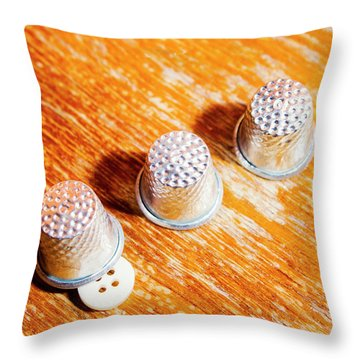 Sewing Tricks Throw Pillow