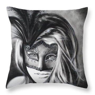 Sexy Little Secret Throw Pillow by Carla Carson