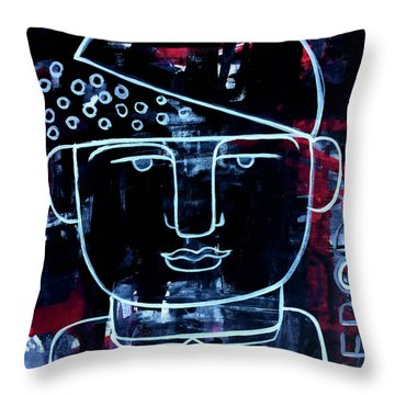 Sexy Successful And Open Minded Throw Pillow
