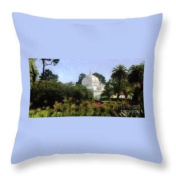 Sf Park Arbortorum Throw Pillow