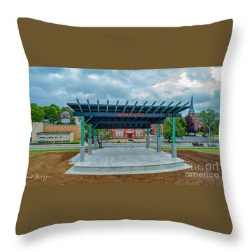 Shaboo Stage  Throw Pillow