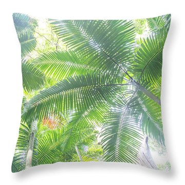 Shade Of Eden  Throw Pillow