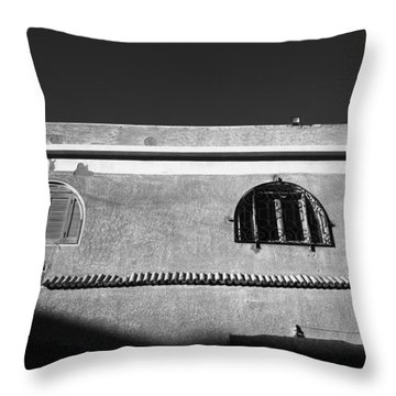 Throw Pillow featuring the photograph Shadees by Jez C Self