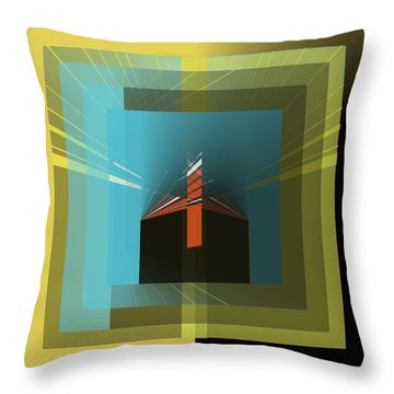 Shades  Throw Pillow