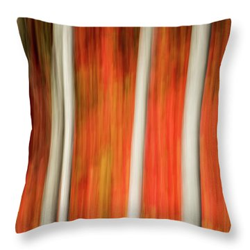 Throw Pillow featuring the photograph Shades Of Amber And Marmalade  by Dustin LeFevre