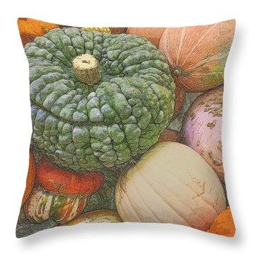 Shades Of Autumn Throw Pillow