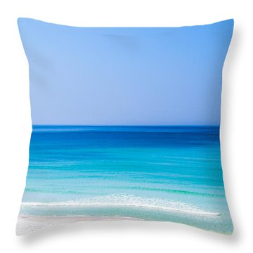 Shades Of Blue Throw Pillow by Shelby  Young