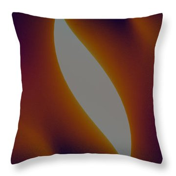Shades Of Colour Throw Pillow by James Barnes