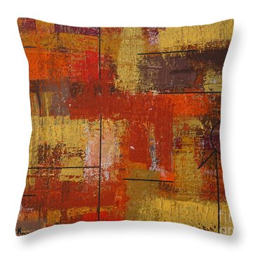 Shades Of Fall Throw Pillow