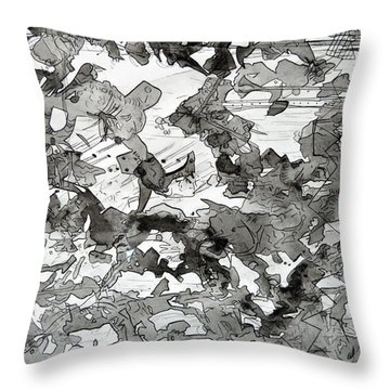 Shades Of... Throw Pillow