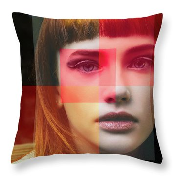 Shades Of My Soul Throw Pillow