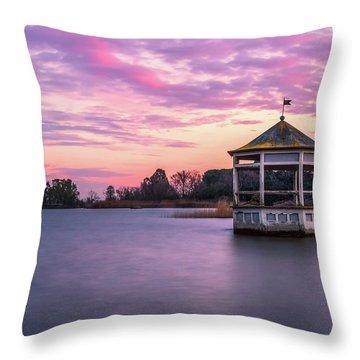 Shades Of Pink Light Throw Pillow