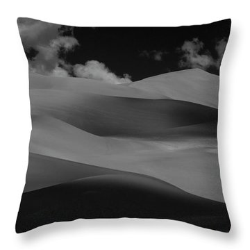 Shades Of Sand Throw Pillow