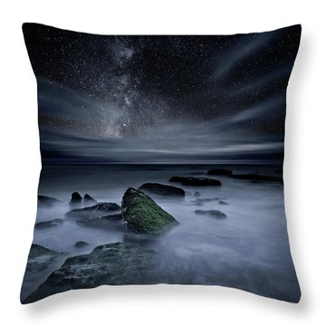Shades Of Yesterday Throw Pillow by Jorge Maia