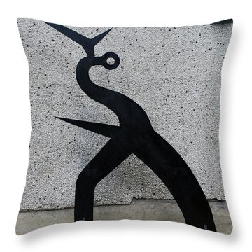 Shadow #1 Throw Pillow