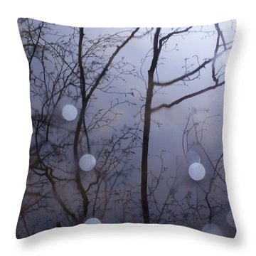 Shadow Forest Throw Pillow