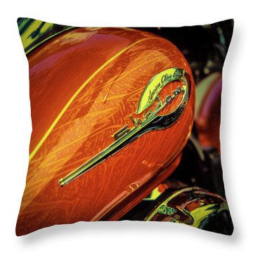 Throw Pillow featuring the photograph Shadow II by Samuel M Purvis III