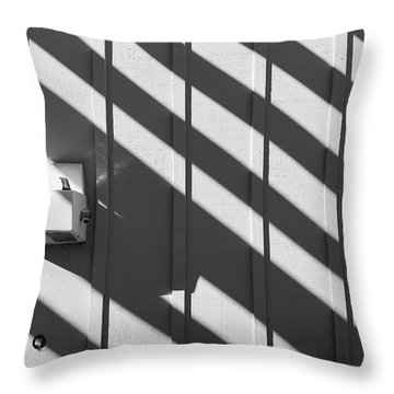 Throw Pillow featuring the photograph Shadow by Jingjits Photography