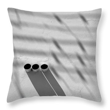 Shadow Notes 2006 1 0f 1 Throw Pillow