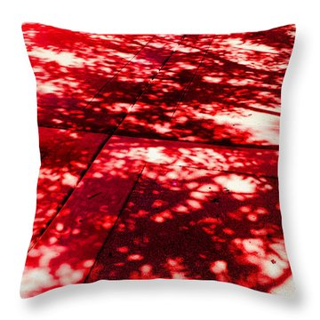 Shadow Of A Tree Throw Pillow