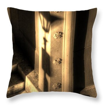 Shadow Of Light Throw Pillow