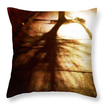 Shadow Of No Doubt Throw Pillow