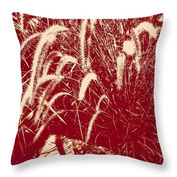 Shadow Painting Throw Pillow