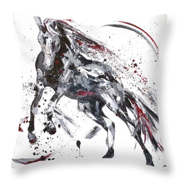 Shadow Throw Pillow by Penny Warden