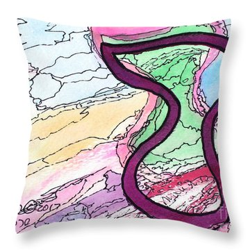 Shadow Resh Throw Pillow