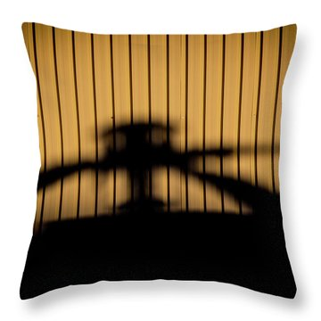 Shadow Rotor Throw Pillow by Paul Job