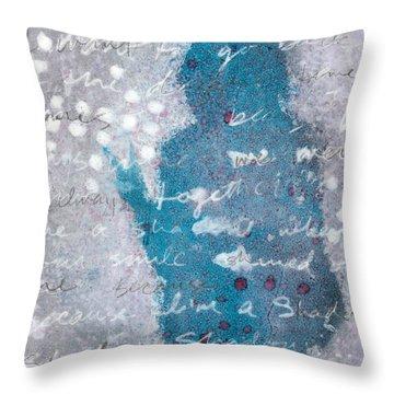 Shadow Throw Pillow by Vanessa Baladad