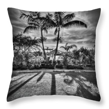 Shadow Waltz Throw Pillow