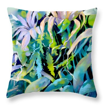 Shadowed Delight Throw Pillow